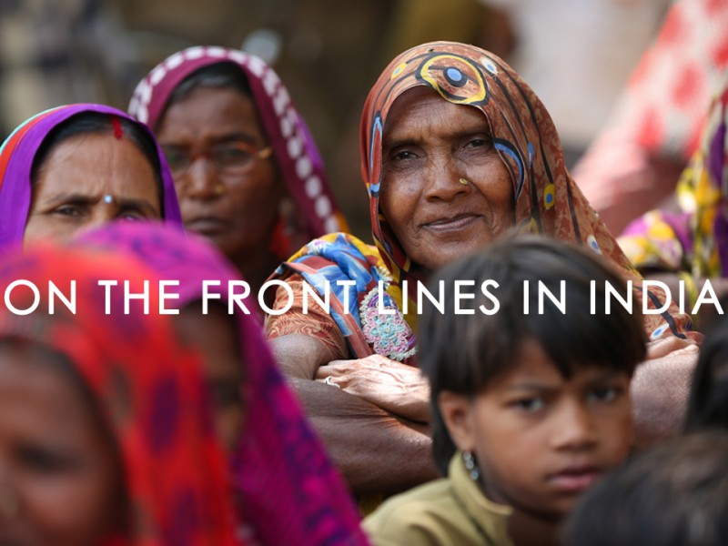 FTS India-On the Front Lines in India Title SlideAV